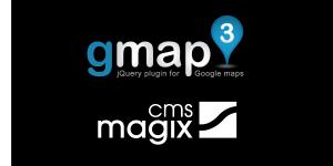 Copie d'écran du script Plugin gmap pour magix cms