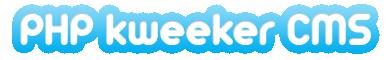 Copie d'écran du script PHP Kweeker CMS, le Twitter clone